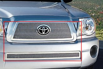 E&G Classics® 1138-0102-05 - 2-Pc Chrome Fine Mesh Grille Kit