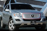 E&G Classics® - Twin Bar Chrome Fine Mesh Grille