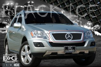 E&G Classics® - Ultimate Series Open Face Black Ice Heavy Mesh Grille