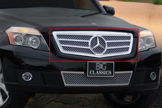 E&G Classics® 1159-010U-10A - Ultimate Series Twin Bar Chrome Heavy Mesh Grille