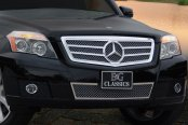 E&G Classics® - Black Ice Ultimate Series Twin Bar Heavy Mesh Grille