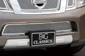 E&G Classics® - 4-Pc Chrome Fine Mesh Grille Kit