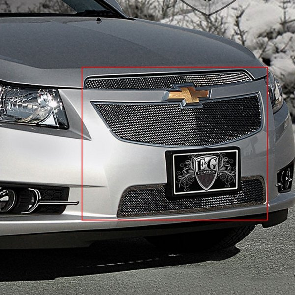 E&G Classics® - Black Ice Super Fine Mesh Grille Kit