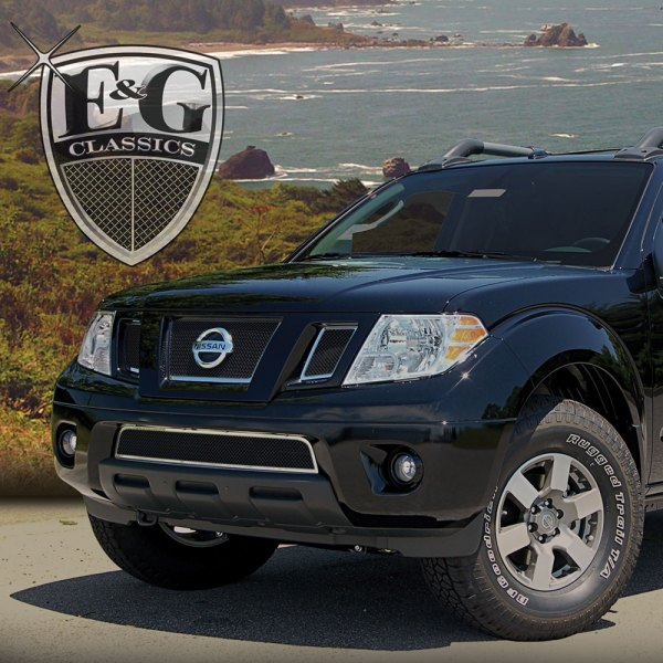 E&G Classics® - 4-Pc Black Fine Mesh Grille Kit