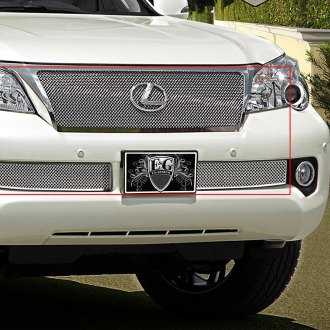 E&G Classics® - 3-Pc Chrome Fine Mesh Grille Kit