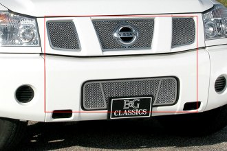 E&G Classics® - Chrome Dual Weave Heavy Mesh Grille Kit