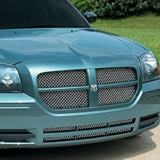 E&G Classics® - 3-Pc Chrome Heavy Metal Mesh Grille Kit