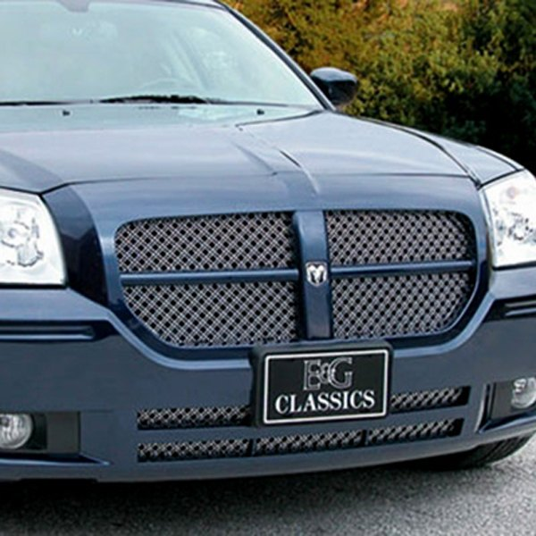E&G Classics® - 3-Pc Dual Weave Chrome Mesh Grille Kit