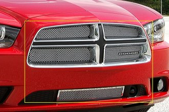 E&G Classics® 1350-0102-11AC - 5-Pc Chrome Fine Mesh Grille Kit