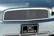 E&G Classics® - 2-Pc Chrome Heavy Metal Mesh Grille Kit