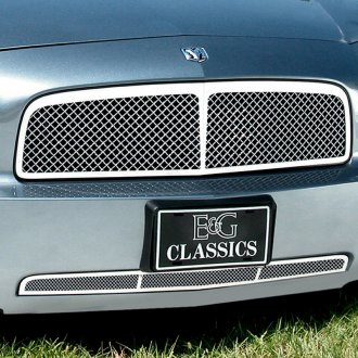 E&G Classics® - 2-Pc Chrome Heavy Mesh Grille Kit