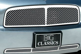 E&G Classics® - Chrome Heavy Metal Mesh Grille