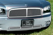 E&G Classics® - Chrome Heavy Mesh Grille with Center Bar