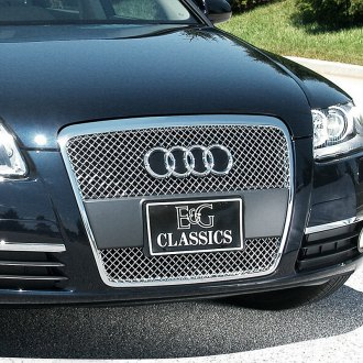 E&G Classics® - Chrome Heavy Metal Mesh Main Grille