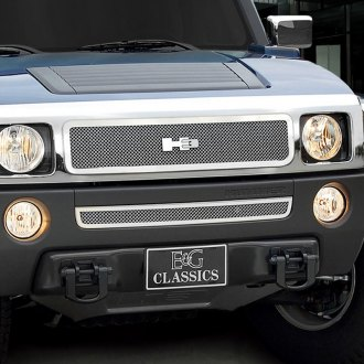 E&G Classics® - Chrome Fine Mesh Main and Bumper Grille Kit