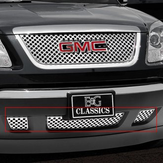 E&G Classics® - 3-Pc Denali Z Style Polished Grille