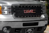 E&G Classics® - E-Power Black Heavy Mesh Grille - 2500 / 3500