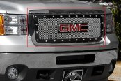 E&G Classics® - E-Power Chrome Plated Heavy Mesh Style Grille