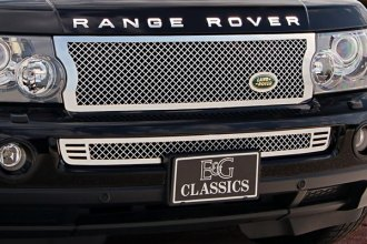 E&G Classics® 1385-0104-04 - Chrome Heavy Mesh Grille Kit