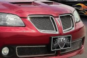E&G Classics® - Black Ice Fine Mesh Grille Kit with Rear Insert