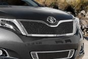 E&G Classics® - 2-Pc Black Heavy Mesh Grille Kit