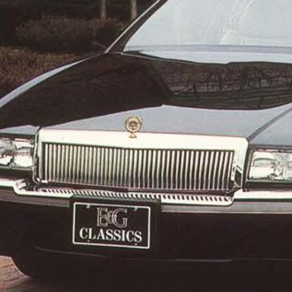 E&G Classics® - Classic Series Low Profile Silver Vertical Billet Main Grille