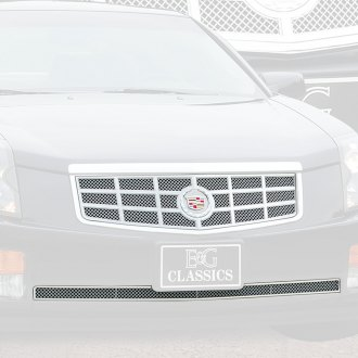 E&G Classics® - 2-Pc Classic Series 18 Style Chrome Mesh Main and Bumper Grille Kit