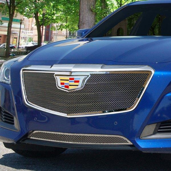 Cadillac Cts Sales: Cadillac CTS Sedan 2016 1-Pc Classic Series Chrome Fine Mesh Main Grille