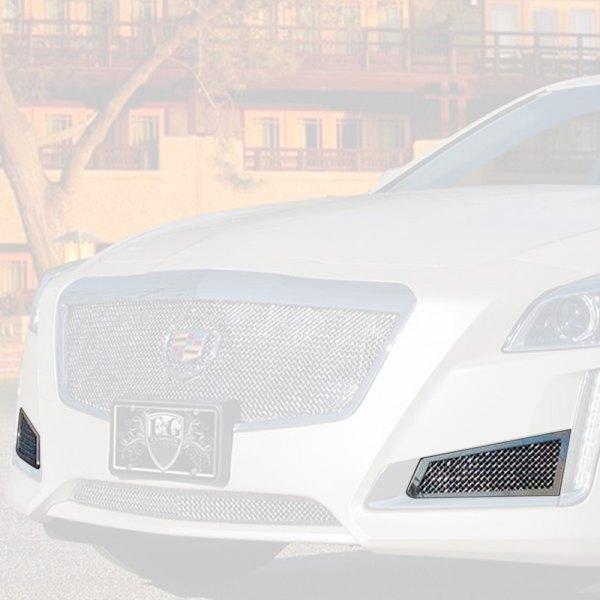 Cadillac CTS Sedan 2014 2-Pc Chrome Fine