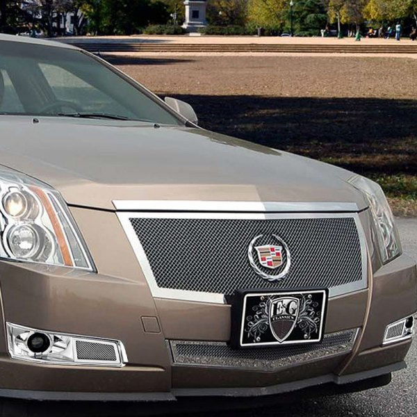 Cadillac Cts 2013 Price: Cadillac CTS 2012-2013 2-Pc Black Ice Fine Mesh Grille
