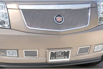 E&G Classics® - Classic Series Chrome Plated Fine Mesh Main Grille