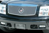 E&G Classics® - Classic Series Chrome Plated Dual Weave Mesh Main Grille