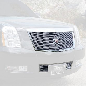 E&G Classics® - 2-Pc Chrome Heavy Mesh Grille