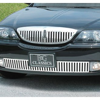 "E&G Classics® - 1-Pc ""Z"" Style Polished Vertical Billet Grille"