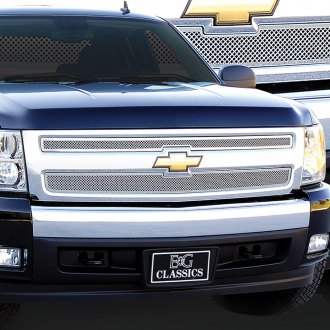 E&G Classics® - 2-Pc Chrome Fine Mesh Main Grille