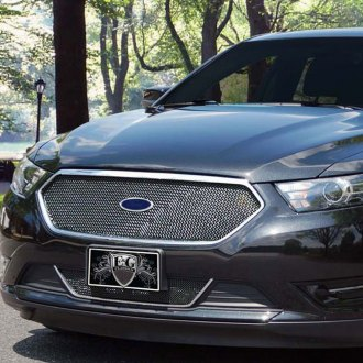 2013 Ford Fusion Front Bumper >> 2013 Ford Taurus Custom Grilles | Billet, Mesh, LED, Chrome, Black