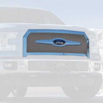 E&G Classics® - 1-Pc Chrome Heavy Mesh Main Grille