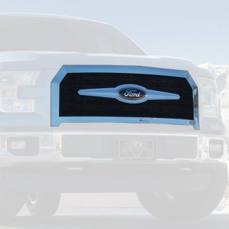 E&G Classics® - 1-Pc Black Ice Heavy Mesh Main Grille