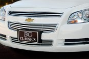 "E&G Classics® - 3-Pc ""Q"" Style Polished Main and Bumper Grille Kit"