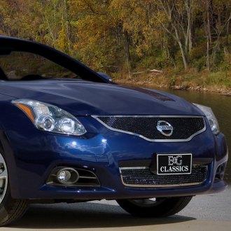2010 Nissan Altima Custom Grilles Billet Mesh Led Chrome Black