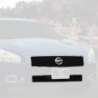 E&G Classics® - 2-Pc Black Ice Heavy Mesh Grille