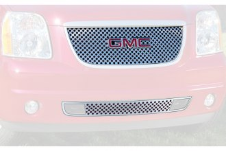"E&G Classics® - 2-Pc Denali ""Z"" Style Polished Main and Bumper Grille Kit"