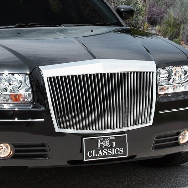 E&G Classics® - Classic Series Chrome Plated Vertical Billet Main Grille