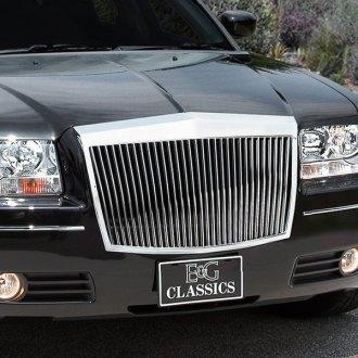 2008 Chrysler 300 Custom Grilles Billet Mesh Led Chrome Black