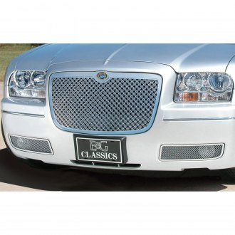 2006 Chrysler 300 Custom Grilles Billet Mesh Led Chrome Black