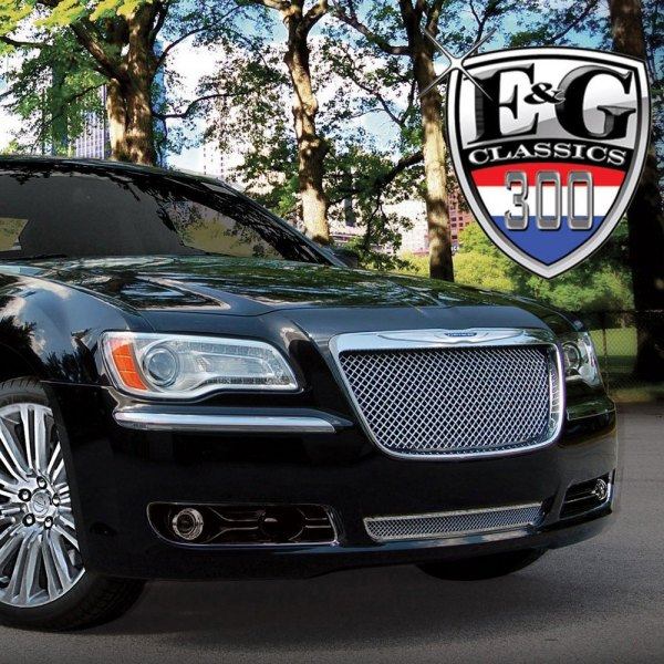 Chrysler 300 2011 Chrome Mesh Grille