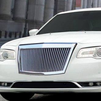Chrysler 300 Custom Grilles Billet Mesh Cnc Led Chrome Black
