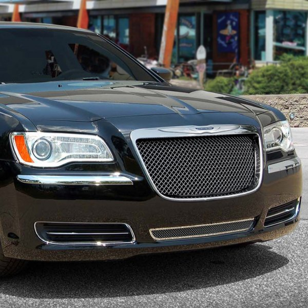 Chrysler 300 2012 Black Ice Mesh Grille