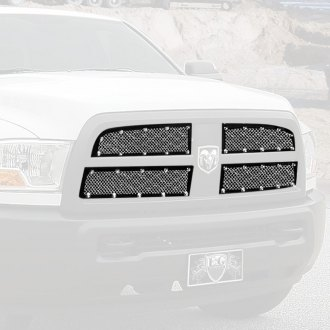 E&G Classics® - 4-Pc E-Power Series Chrome Fine Mesh Main Grille