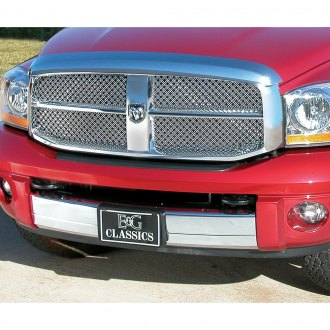 E&G Classics® - 2-Pc Chrome Dual Weave Mesh Main Grille